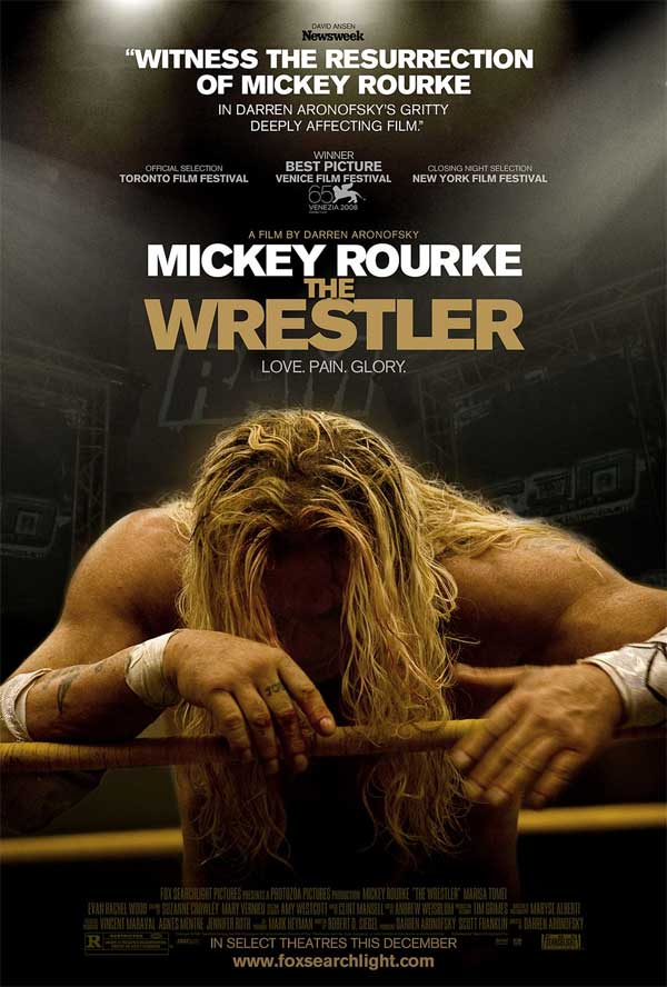 film, the wrestler, poster
