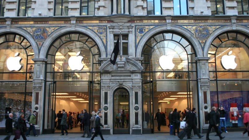 apple store, regent street, london
