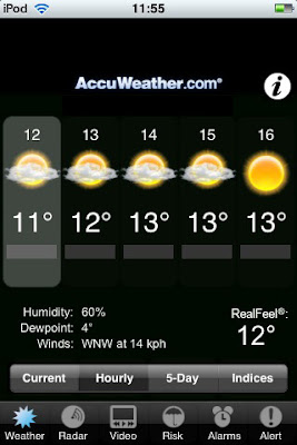 accuweather, iphone, ipod touch