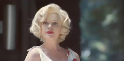 marilyn monroe, mercedes glk, commercial