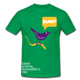 burp bird tshirt