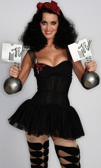 katy perry, europe music awards, ema's, 2009