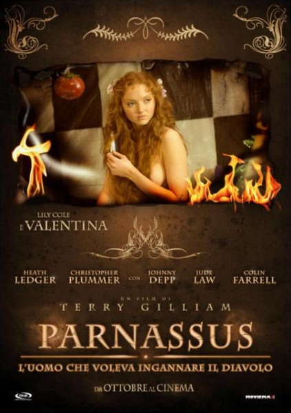 the imaginarium of doctor parnassus, poster, locandina