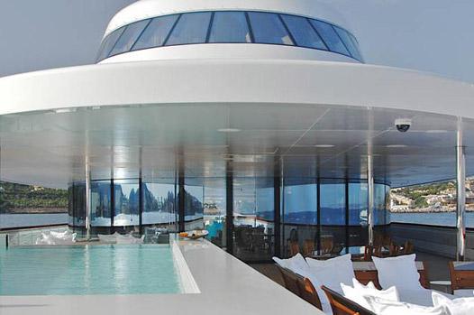 andrey melnichenko, yacht, starck, interiors