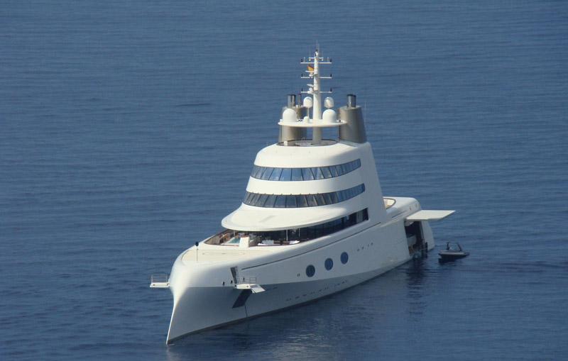 andrey melnichenko, yacht, starck