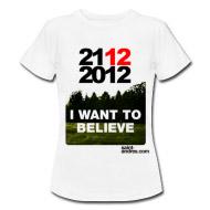 2012 t-shirt, fine del mondo