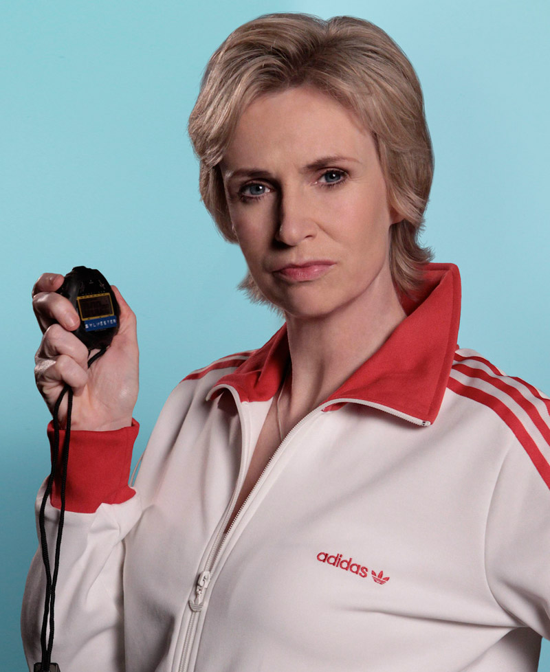 glee, jane lynch, sue sylvester