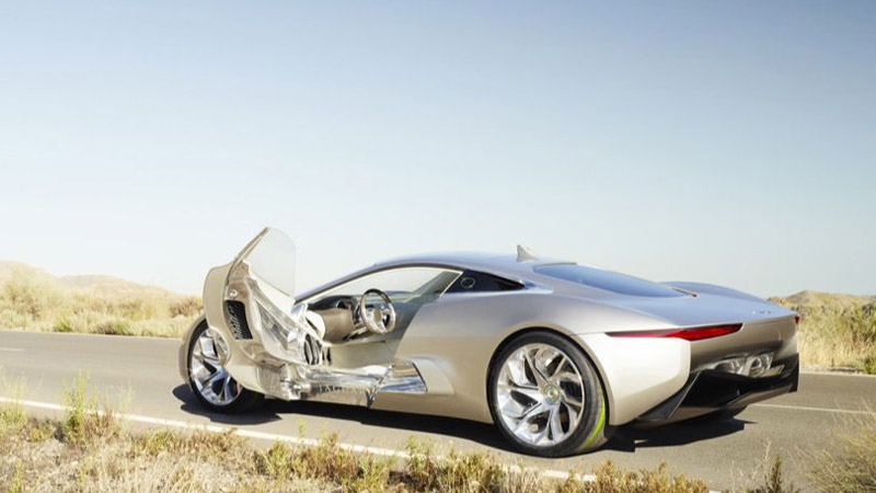 jaguar concept cx75