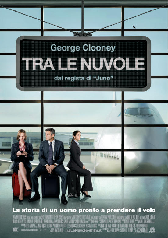 tra le nuvole, film, george clooney