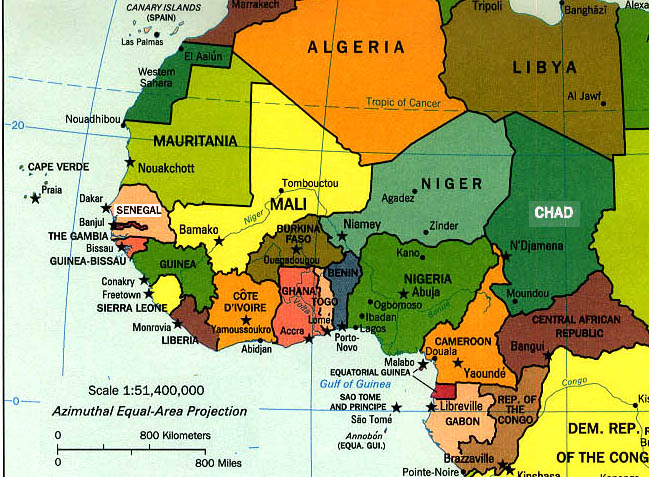 africa map with capitals. africa map awest Capitals