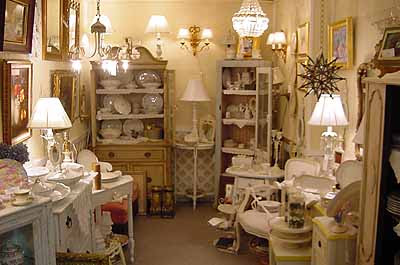 Shabby Chic Cabinets Sophisticated Kitchen.