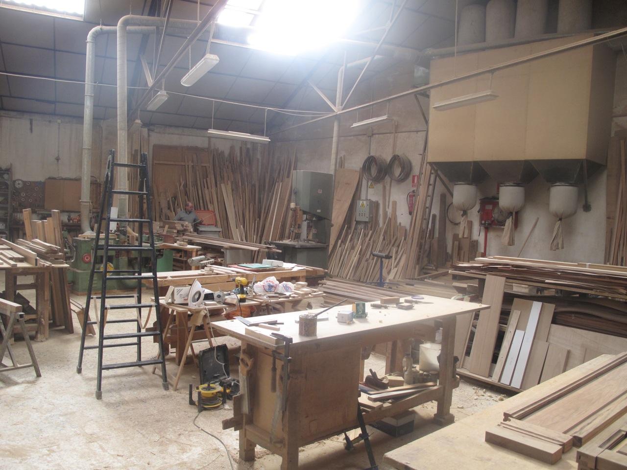 Daniel paya dise o de interiores arquitectura y decoraci n madrid blog visita al taller - Taller de ebanisteria ...