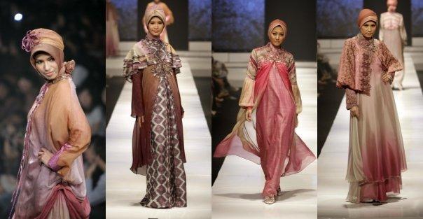 Gamis Muslimah Dzafeera Busana Muslimah Batik Elegan