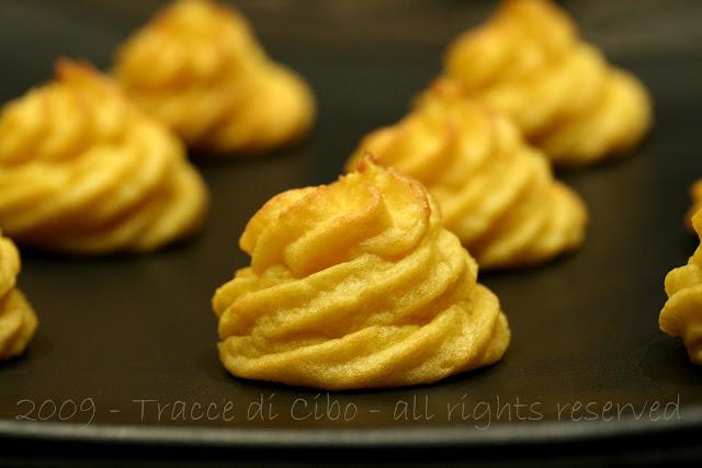 patate duchessa, contorno, patate, purè
