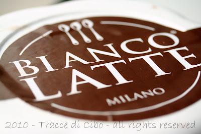 Bianco Latte, gelato, Milano, via turati