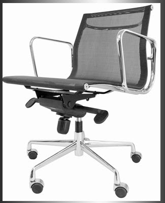 Aluminum Group Style Mesh Management Chair