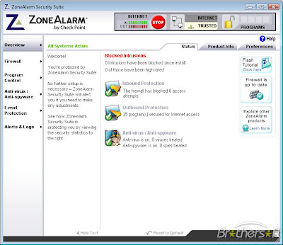 Zone Labs Security Cracking