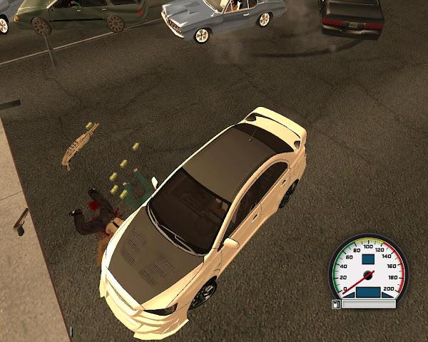Mitsubishi Lancer Evolution X Edit. para GTA San Andreas