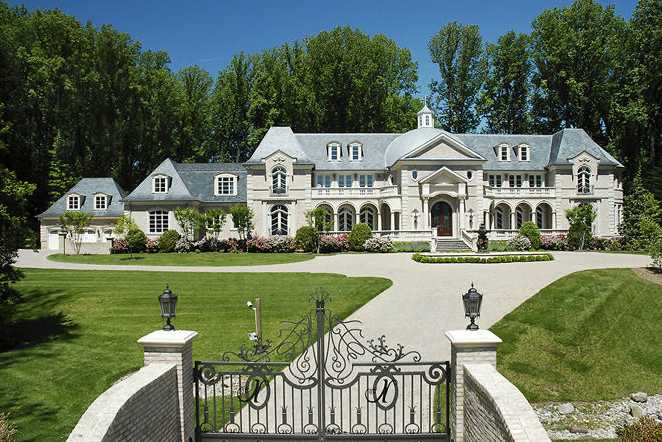 Luxury Features And Amenities Abound In A Beautiful Castle In McLean