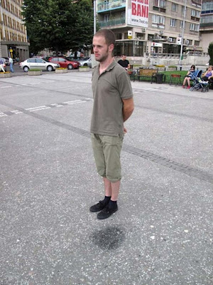Guy Levitating Illusion Picture
