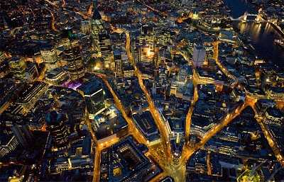 London picture at night