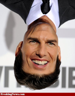 tom cruise upside down photoshoped celebrity