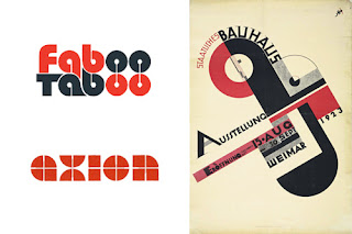 Bauhaus - may favourite font. And the one I use as the logo for my engineering PR company