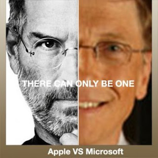 Apple versus Microsoft, perhaps the best example of negative advertising in Technical PR, Engineering PR, Industrial PR, Manufacturing PR or Electronics PR.