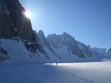 Tatina Glacier, Kitchatna Spires. Alaska