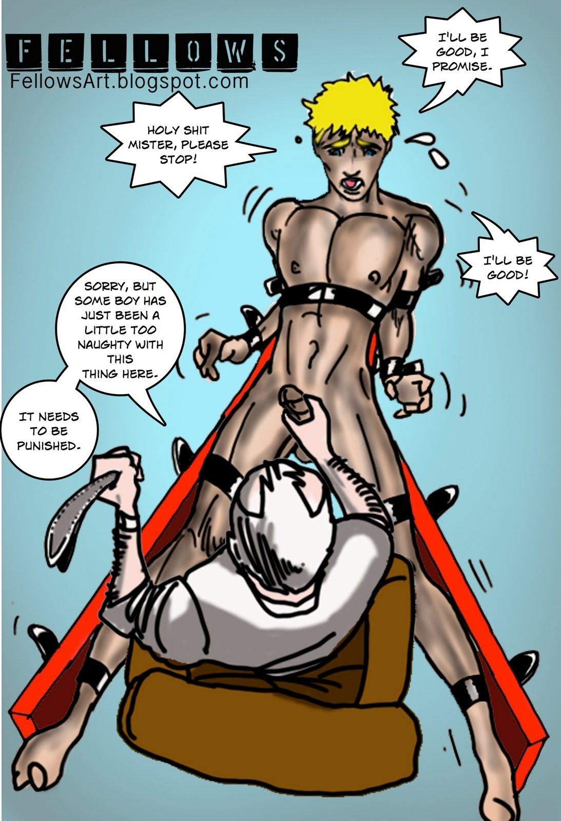 Fellows Gay Art Male Bondage