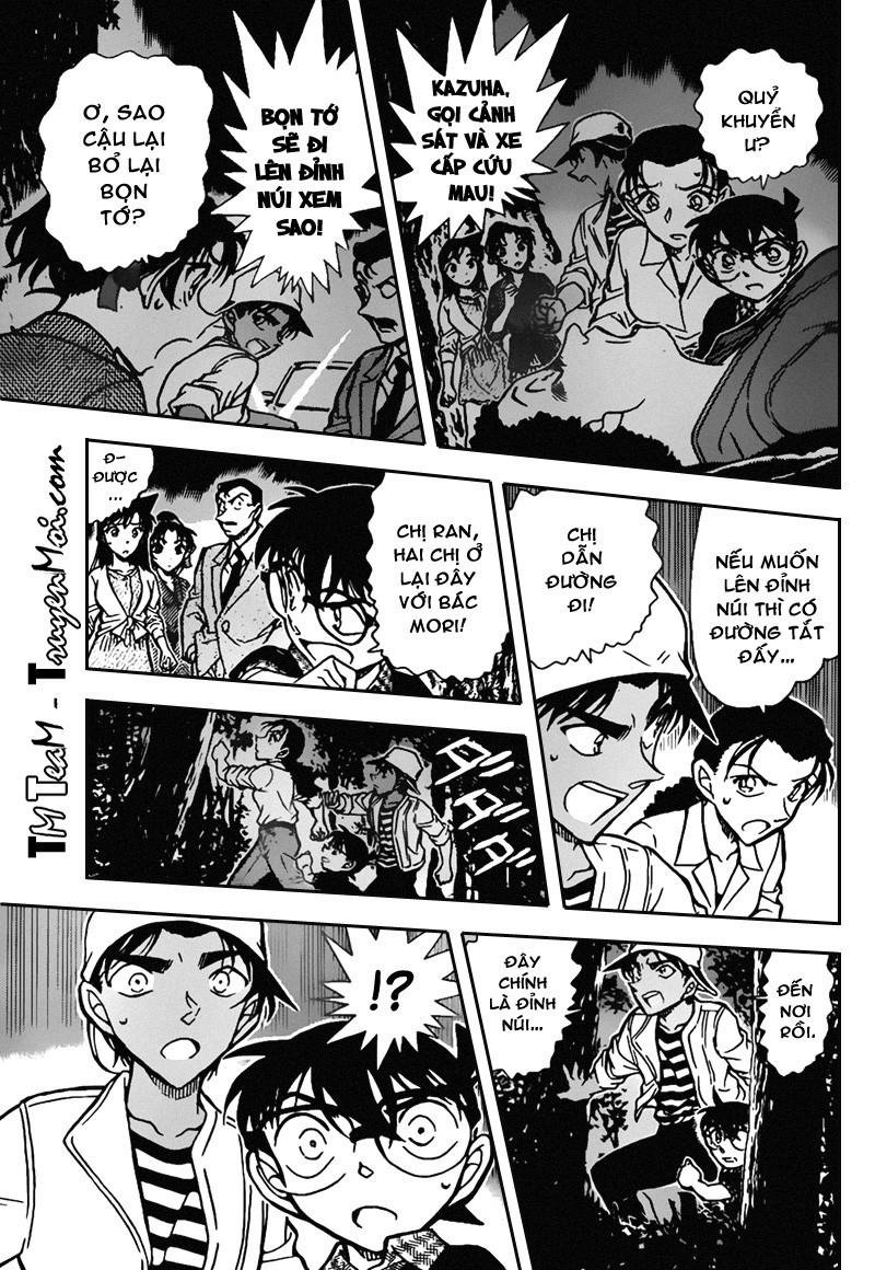 Conan-Thám Tử Lừng Danh trang 15