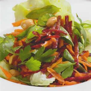 Ensalada de beterraga y zanahoria recetas de cocina - Ensalada de zanahorias ...