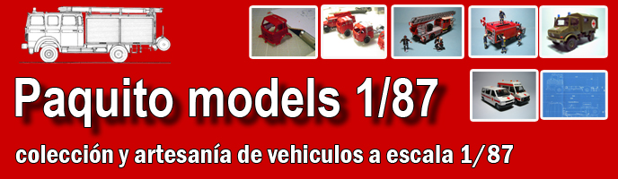 Paquito Models 1/87