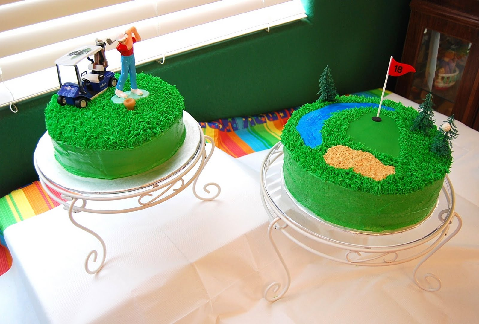 Creative Cakes By Rochelle Golf Cake