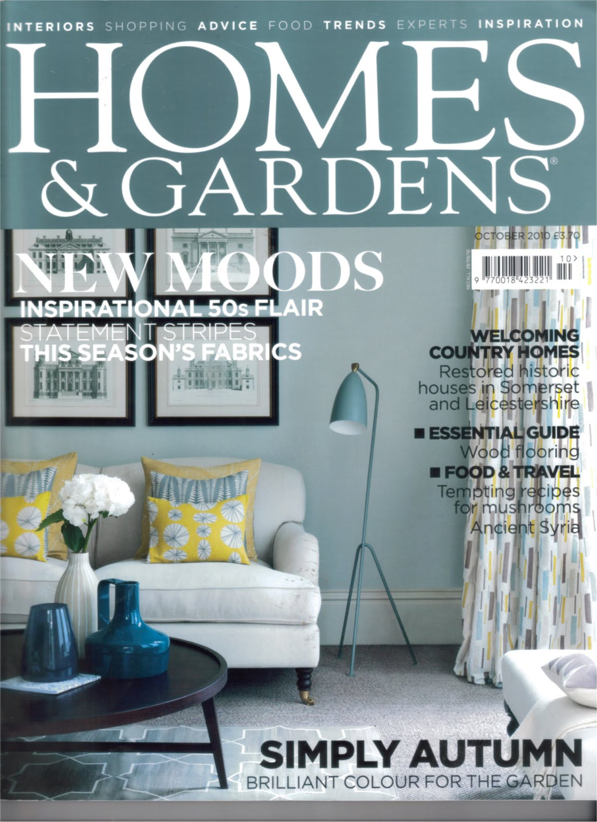 Homes And Gardens Magazine Lorna Syson