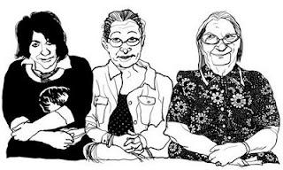 Three Women, by Ruben Fletcher