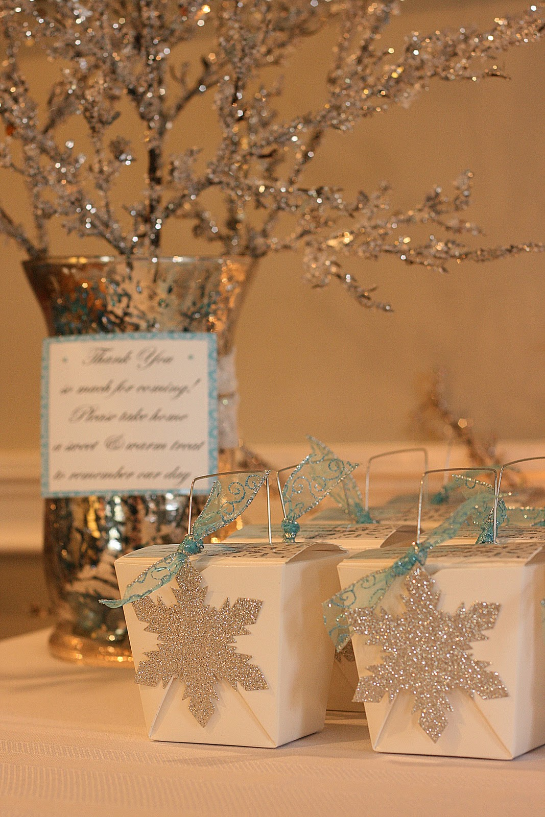 Winter Centerpieces For Baby Shower : Love winter wonderland a magical day celebrating