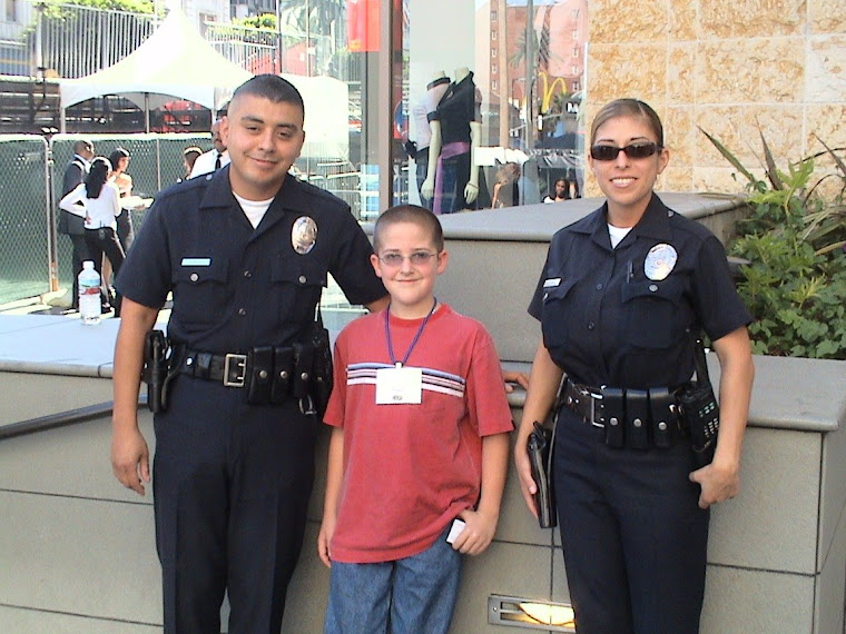 Tanner and LAPD Officers