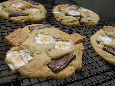 Giant S'mores Cookies Recipes — Dishmaps