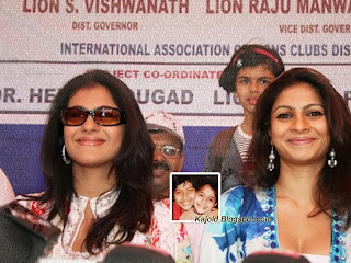 kajolwith sister tanisha : topchild.blogspot.com Indian top stars childhood teen age and marriage photos