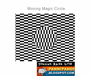top 10 latest list of illusions - moving circle at the center