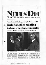 Zusammenarbeit zwischen den Geheimdiensten in Ost-Berlin und Havanna