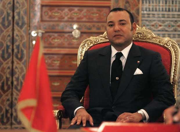 Mohamed VI,  monarca de la satrapía marroquí