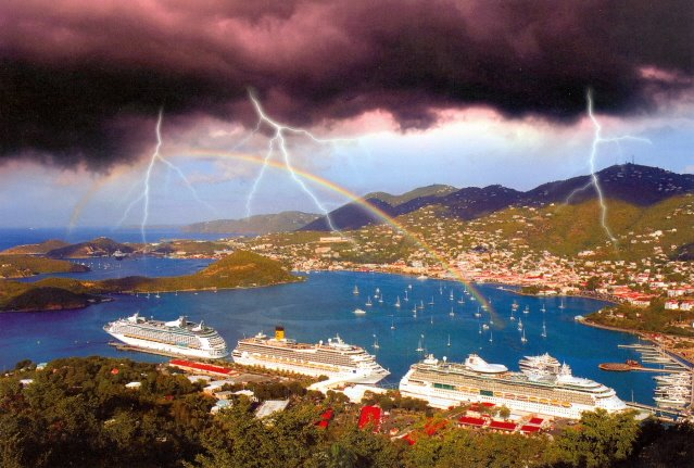 Weather St Thomas Us Virgin Islands Today