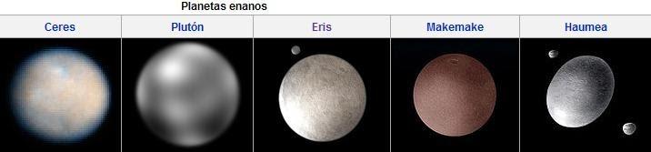 Según la Unión Astronómica Internacional, un planeta enano es aquel ...