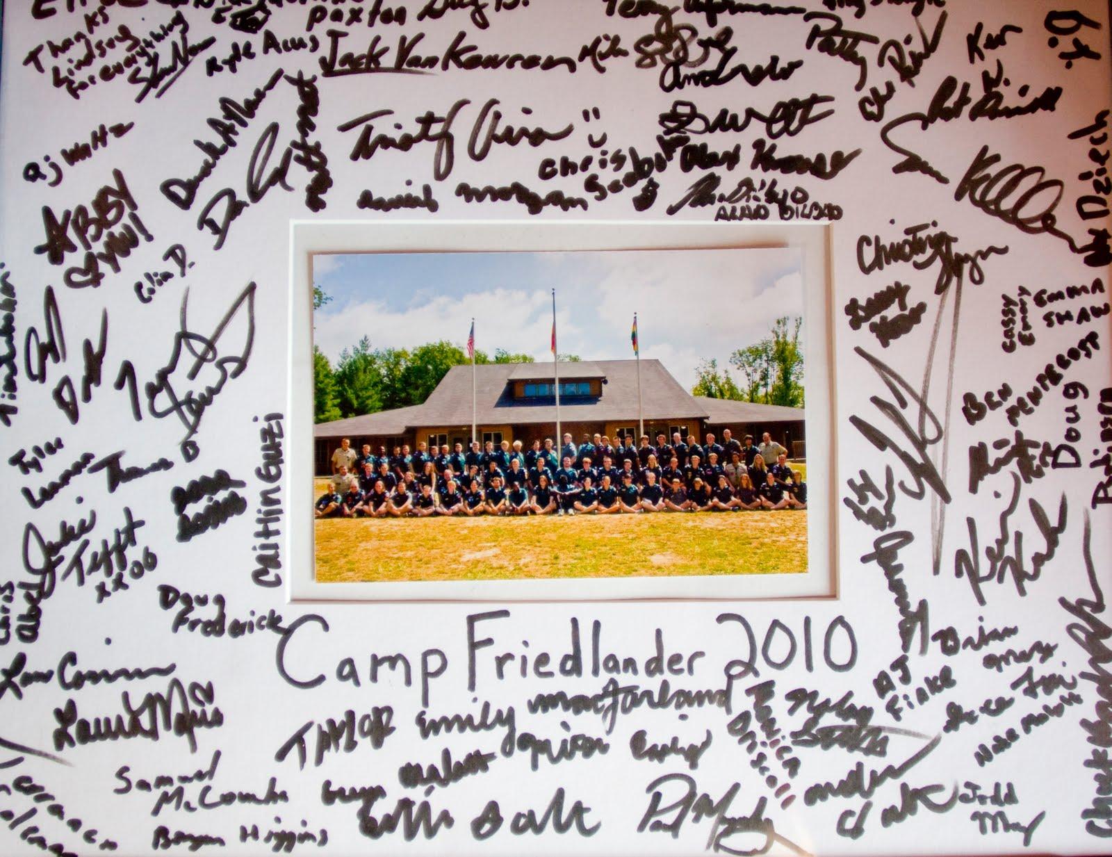 Camp Friedlander Summer Camp Camp Friedlander Camp Staff