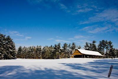 Camp Friedlander Summer Camp Snow Covered Summer Camp