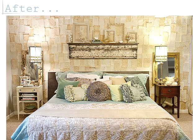 the french flea vintage inspired bedroom makeover
