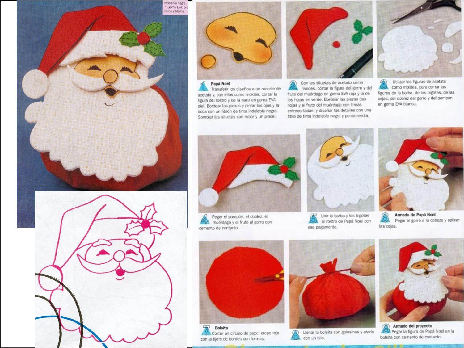 Saquinho De Jujuba   Papai Noel