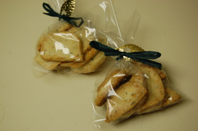 parmesan thyme crackers